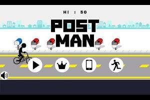 Screenshot of POST MAN