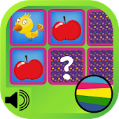 Match Cards Kids Game - Voice