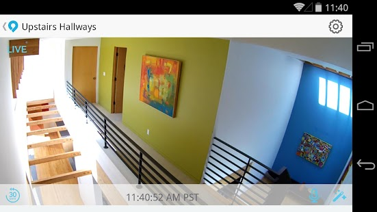 Dropcam Screenshot