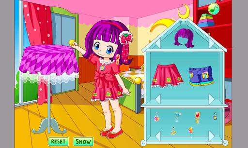 Little Cute Girl Dress Up