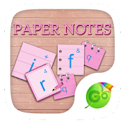 App Paper Notes GO Keyboard Theme APK for Windows Phone