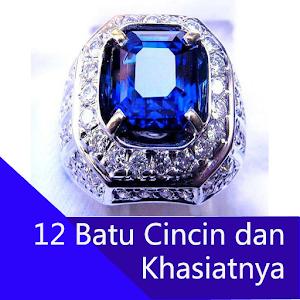 12 Batu Cincin dan Khasiatnya