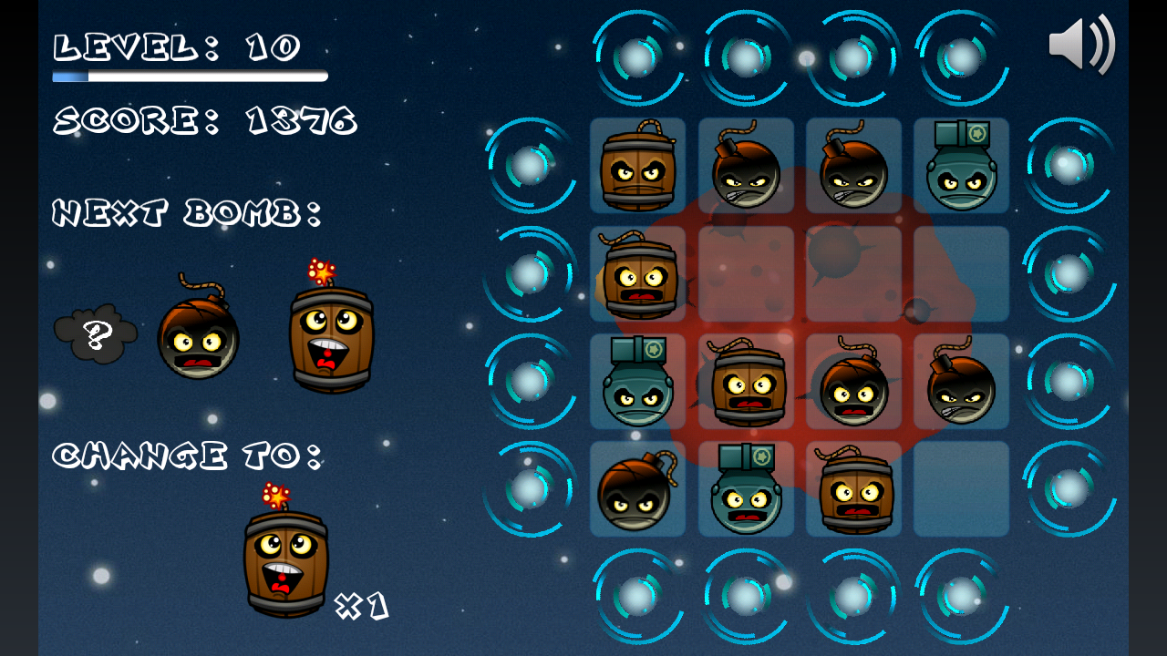 Space Bombs- screenshot