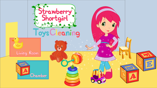 Strawberry Shortgirl Kid Clean