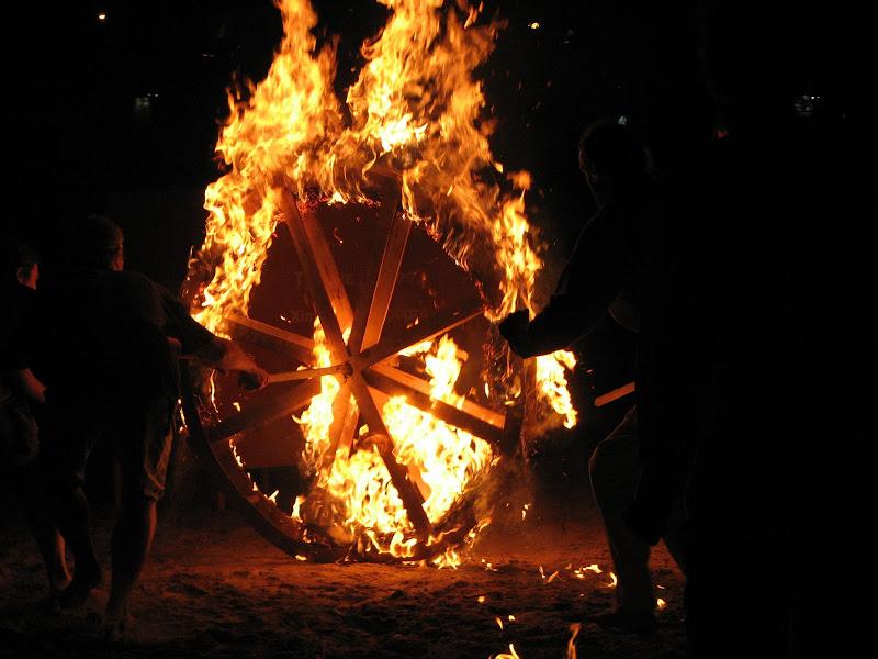 Празднование Купала-2007 в Киеве.  Фотографии начала праздника.