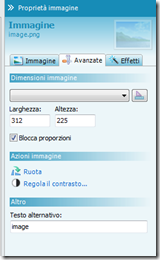 secondo screenshot