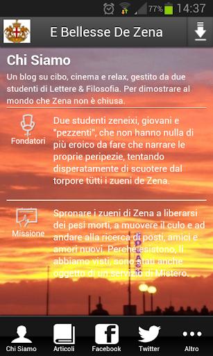E Bellesse De Zena App