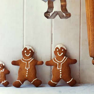 Gingerbread Men Cookie.