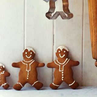 Gingerbread Men Cookie.