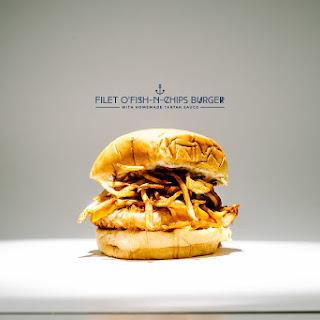 Filet o' Fish and Fries Burger