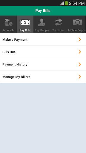 Citizens Bank Mobile Banking Screenshot
