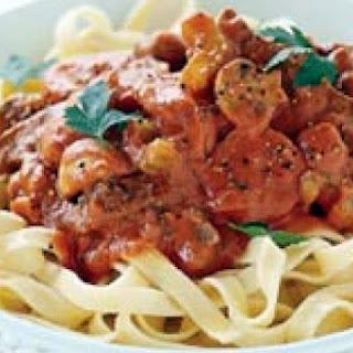 Tomato Beef Stroganoff