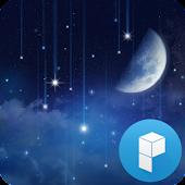 별이 내리는 밤 확장팩 런처플래닛 라이브 테마