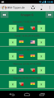 Screenshot of Football Tipping World Cup