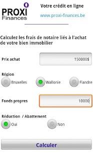Calcul frais de notaire android apps on google play - Frais notaire achat appartement ...