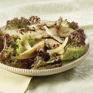 Pear, Pecan & Parmesan Salad