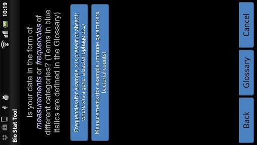 【免費教育App】BioStat Decision Tool-APP點子