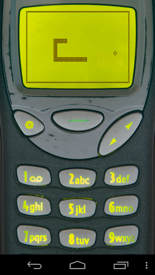 Snake '97: retro phone classic - screenshot