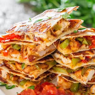 Chicken Fajita Quesadillas.