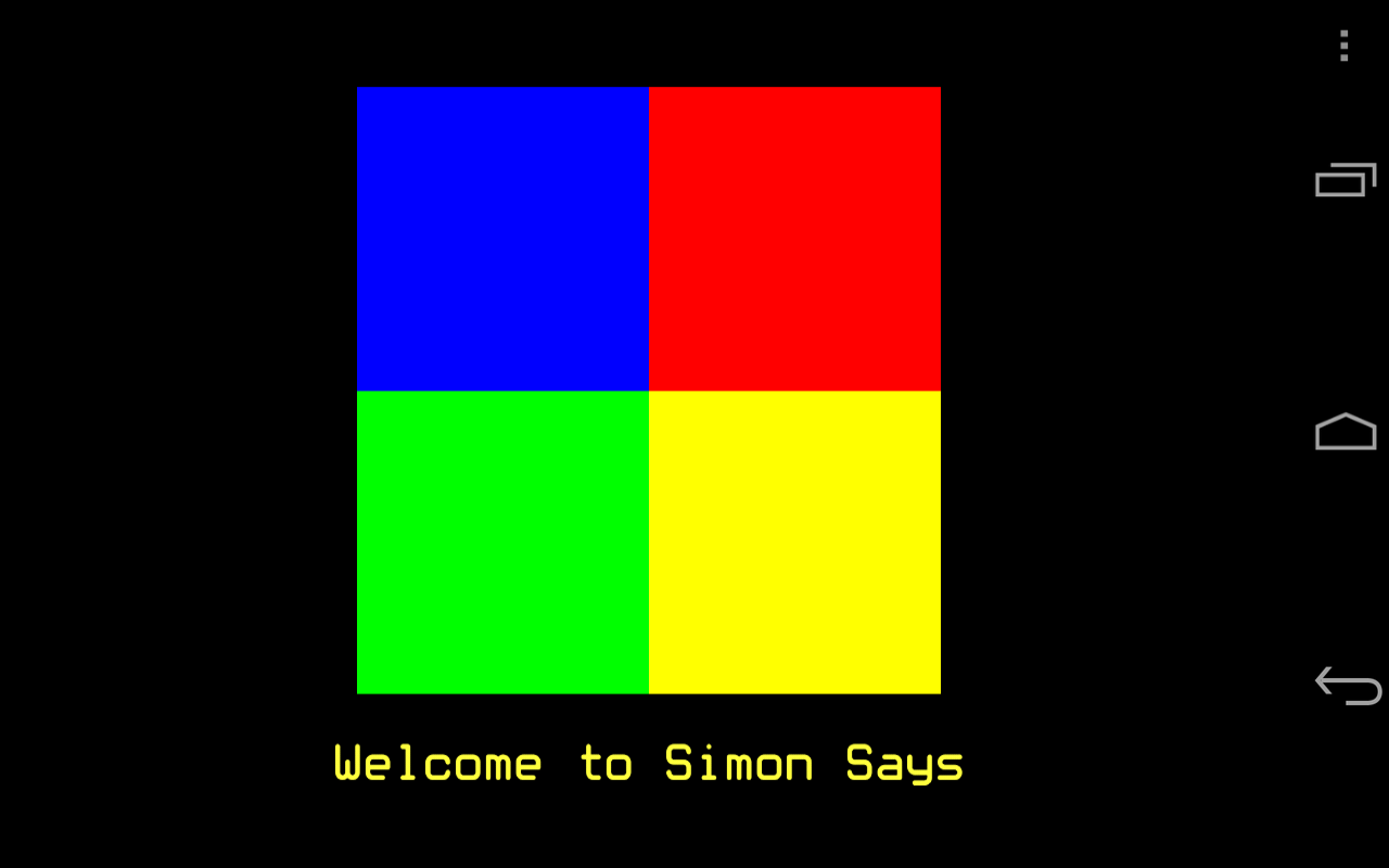 Simon Says - screenshot