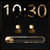 Luxurious Gold GO Locker Slide