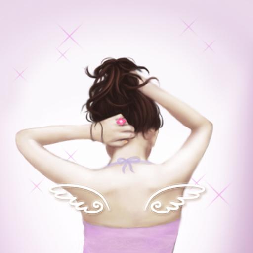 CUKI Theme Pretty Wings Girl LOGO-APP點子