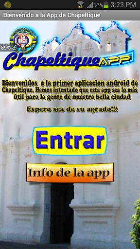 Chapeltique App