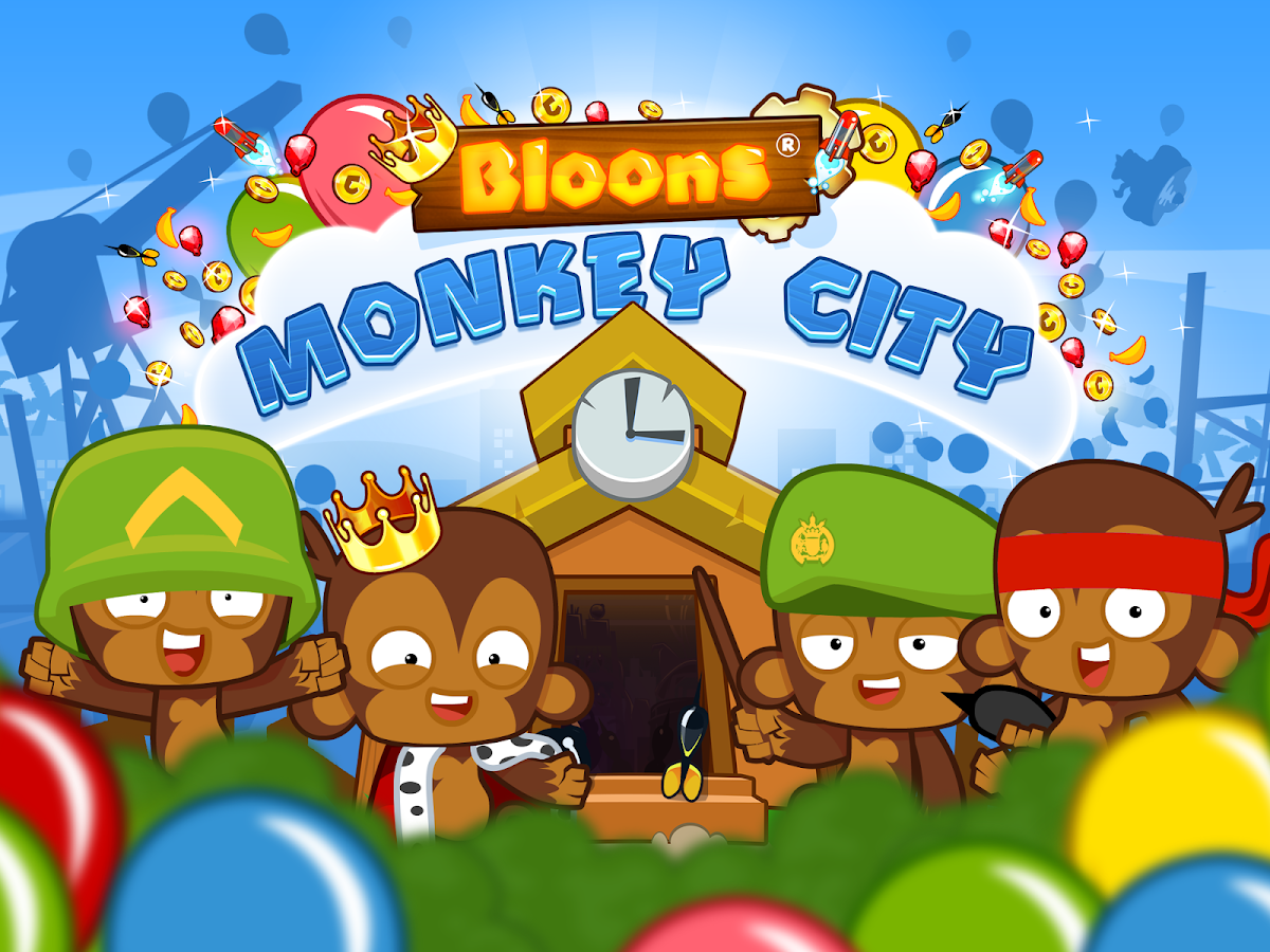 Bloons Monkey City- screenshot
