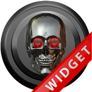 Poweramp Widget Titan Skull icon