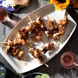 Greek Marinated Chicken Kebabs.