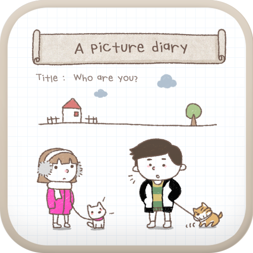 A picture diary go launcher 個人化 App LOGO-硬是要APP