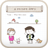 A picture diary go launcher