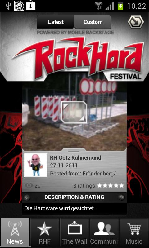 RockHard Festival - screenshot