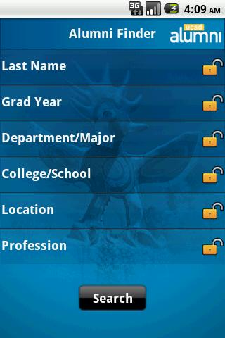 UCSD Alumni - screenshot