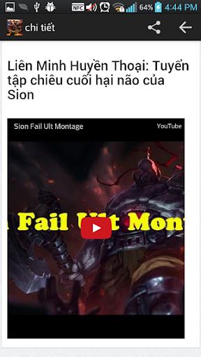 clip Lien Minh Huyen Thoai LOL