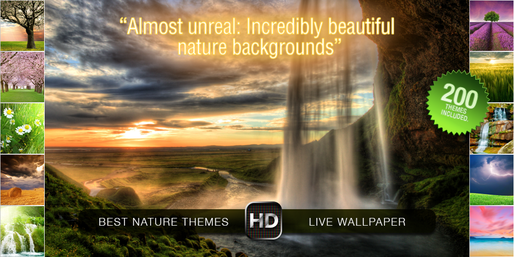 BEST OF NATURE Live Wallpaper - screenshot