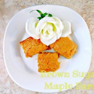 Brown Sugar Maple Bars
