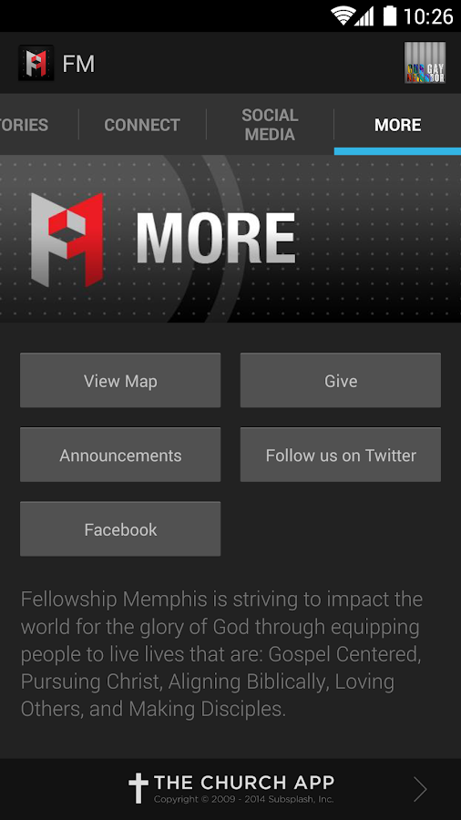 Fellowship Memphis - screenshot