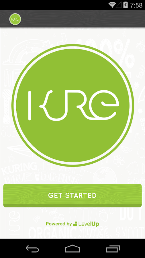 KURE App- screenshot