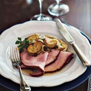 Roasted Ham with Creole Glaze