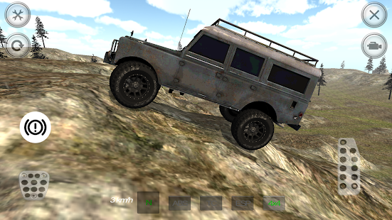 SUV Mountain Driving 3D