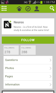Neuros Medical Social Network- screenshot thumbnail