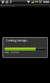 Root # All Data2SD card. Screenshot 1