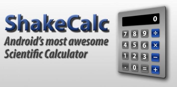 Shake Calc - скачать математический калькулятор для андроид