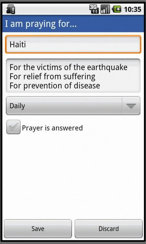 Prayer Popper- screenshot