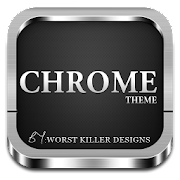 Free app CHROME APEX NOVA GO ADW THEME Tablet