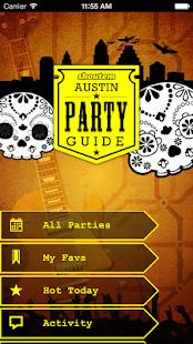 Austin Party Guide- screenshot thumbnail