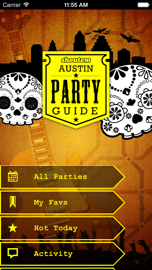 Austin Party Guide - screenshot