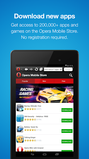 Download Opera Mini Fast Web Browser Android Apps Apk 1979395