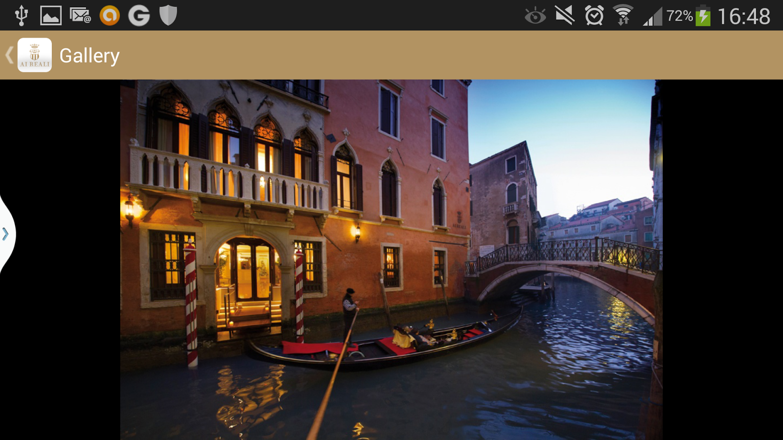 Ai Reali Venezia- screenshot
